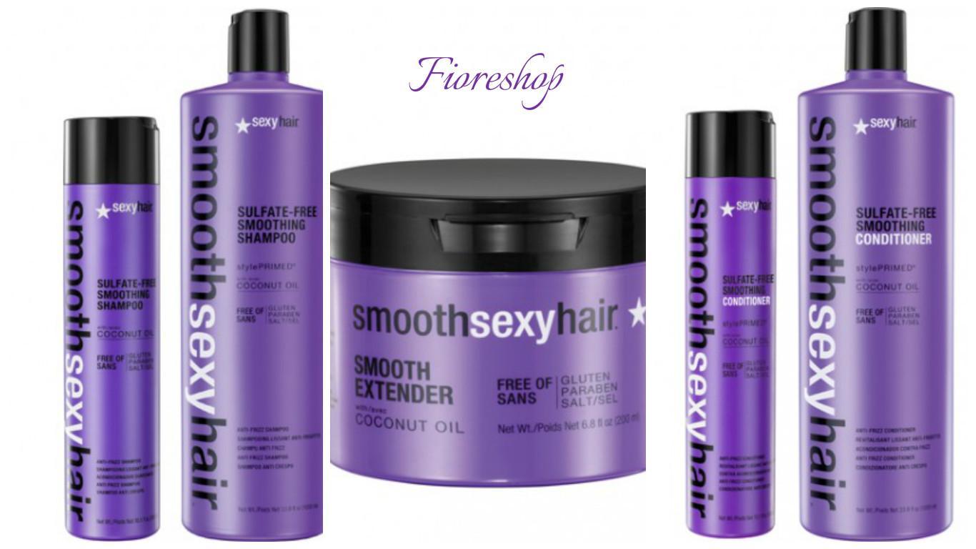 Smooth encounter sexy hair