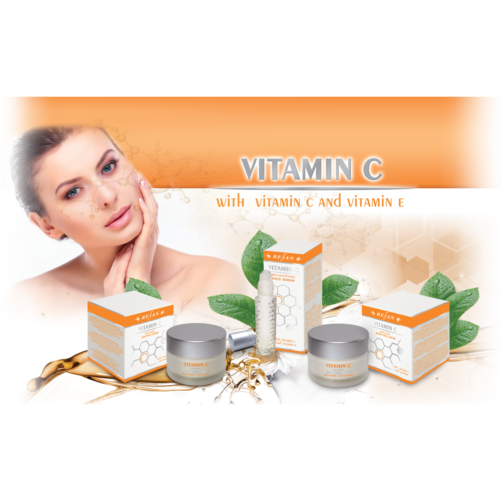 Refan Vitamin Campe Anti Aging Dayampnight Cream 30ml Amp I Face Serum C 10ml Ce Daynight 3 Packs